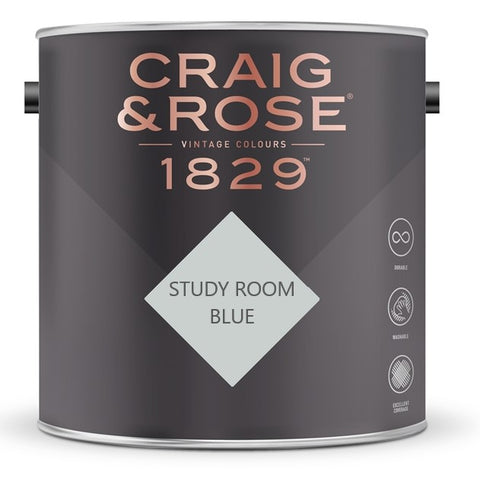 Craig & Rose 1829 Study Room Blue Tin