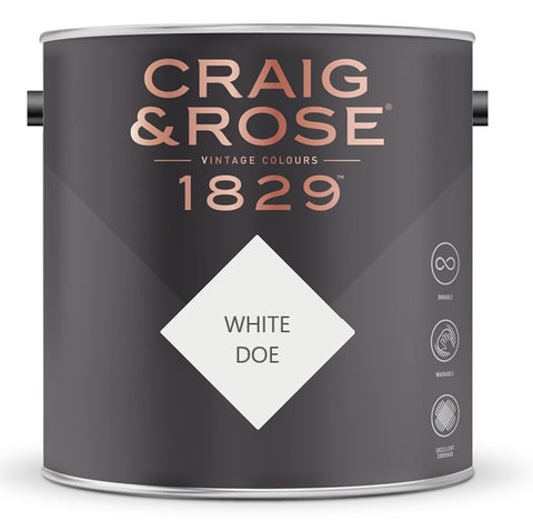 Craig & Rose 1829 White Doe Tin