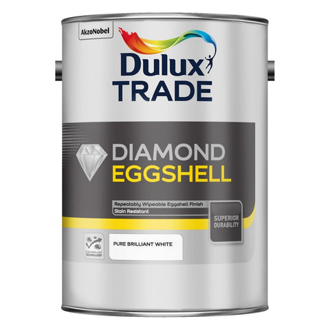 Dulux Trade Diamond Eggshell Pure Brilliant White