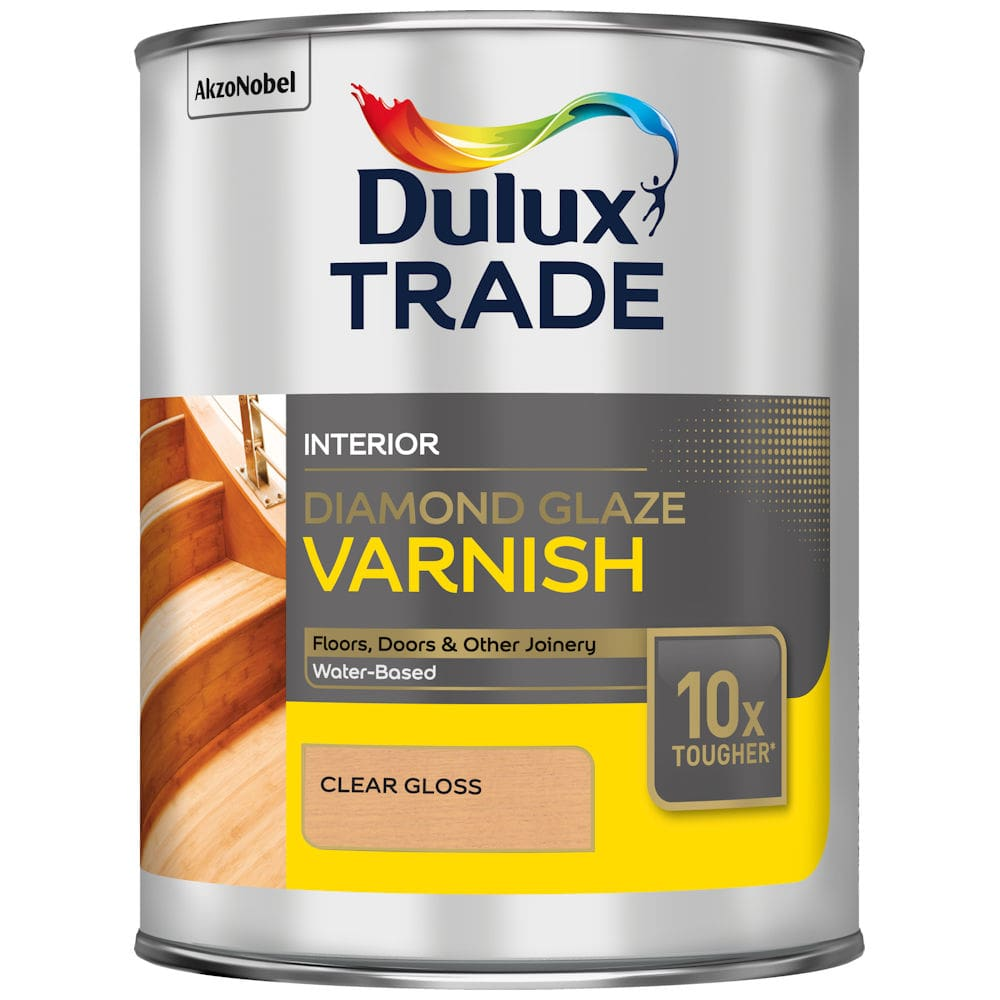 Dulux Trade Diamond Glaze Varnish Clear