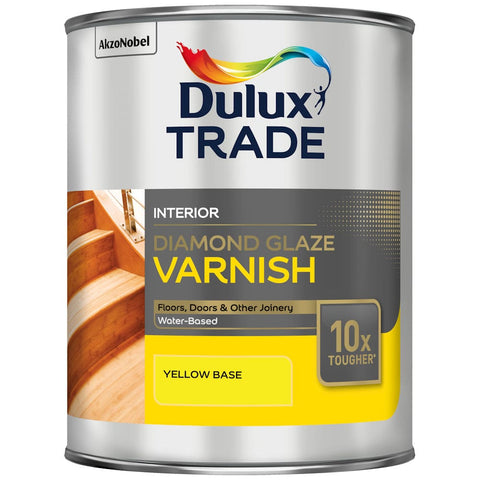 Dulux Trade Diamond Glaze Varnish Colours