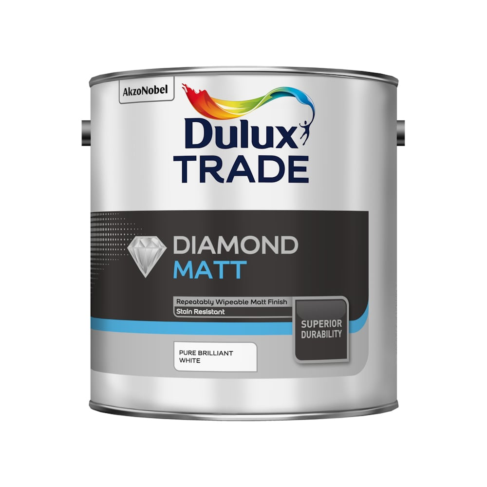 Dulux Trade Diamond Matt Pure Brilliant White