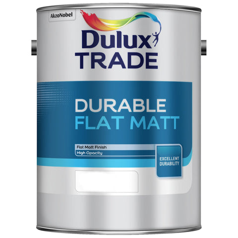 Dulux Trade Durable Flat Matt Colours