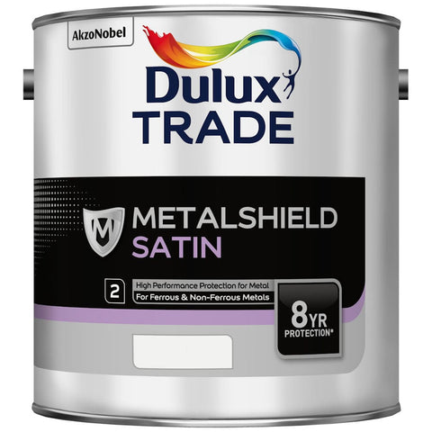 Dulux Trade Metalshield Satin White