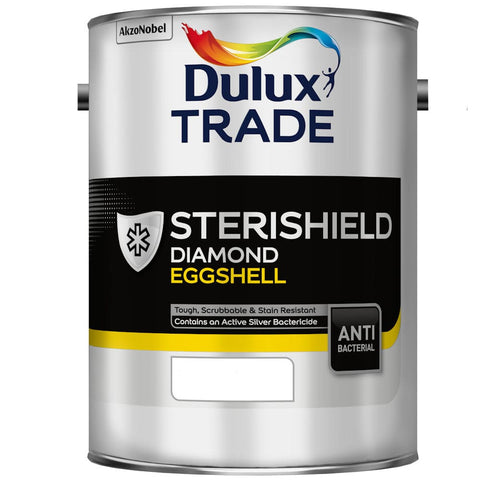 Dulux Trade Sterishield Diamond Eggshell Colours