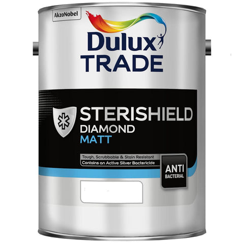 Dulux Trade Sterishield Diamond Matt Colours