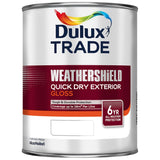 Dulux Trade Weathershield Quick Dry Exterior Gloss Colours