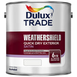 Dulux Trade Weathershield Quick Dry Exterior Satin Colours