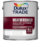 Dulux Trade Weathershield Quick Dry Undercoat Colours