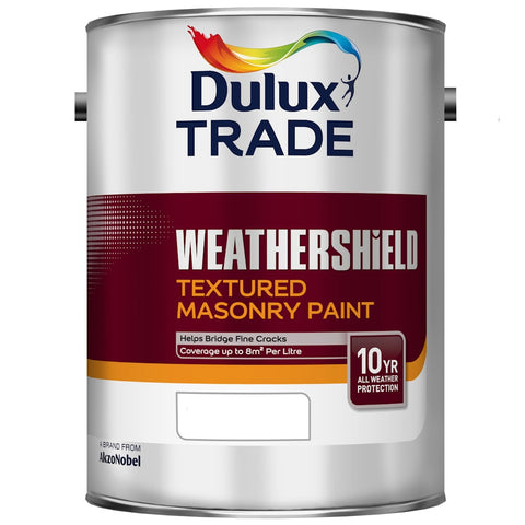 Dulux Trade Weathershield Textured Masonry Paint Colours