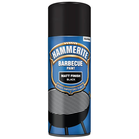 Hammerite Barbecue Paint Matt Black 400ML