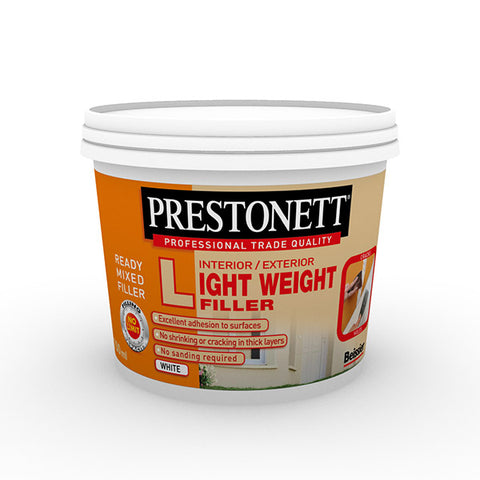 Prestonett Interior/Exterior Light Weight Filler 750ml