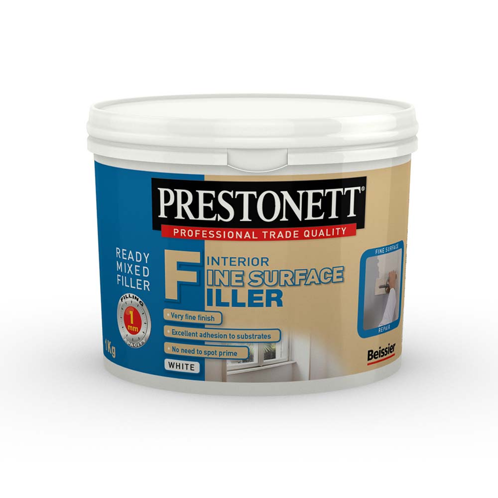 Prestonett Interior Fine Surface Filler 1Kg