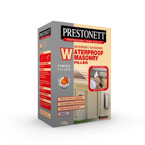 Prestonett Powder Waterproof Masonry Filler 1Kg