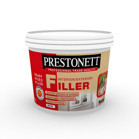 Prestonett Ready Mixed Interior/Exterior Filler 1Kg