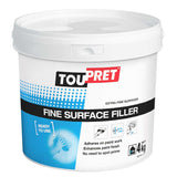 Toupret Fine Surfacer Filler 4Kg