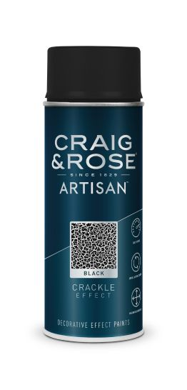 Craig & Rose Artisan Black Crackle Effect Spray