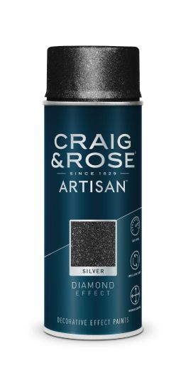 Craig & Rose Artisan Diamond Silver Effect Spray