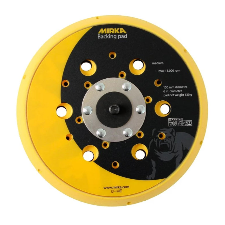 "Mirka Backing Pad 6"" 150mm 48 holes"