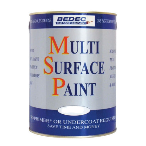 Bedec Multi Surface Paint - Colour Supplies (Chesham) Ltd