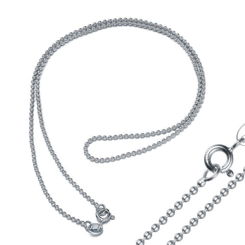 925 Sterling Silver Chain (Design C-0006)