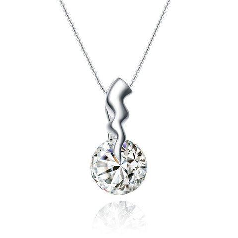 925 Sterling Silver Necklace (Design P-0071)