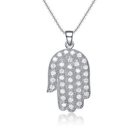 925 Sterling Silver Necklace (Design P-0079)
