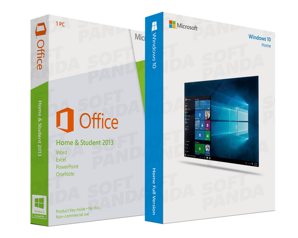 Windows 10 Home & Office 2013 Famille Etudiant