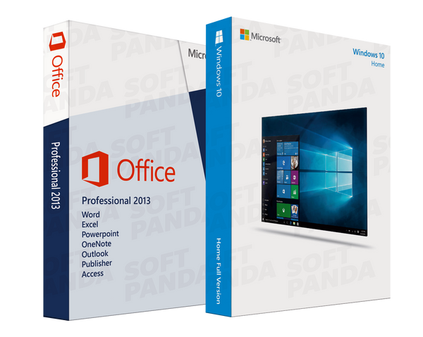 Windows 10 Home & Office 2013 Professionnel