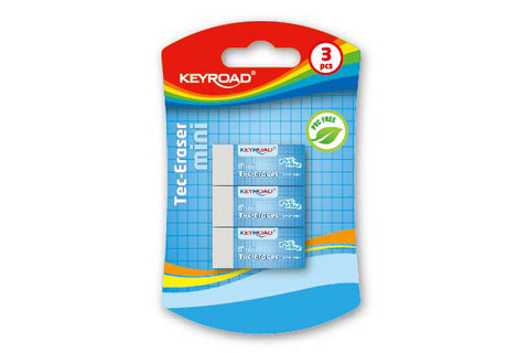 KEYROAD S TECHNIC ERASER 39.5*17.5*11.5MM KR971023*
