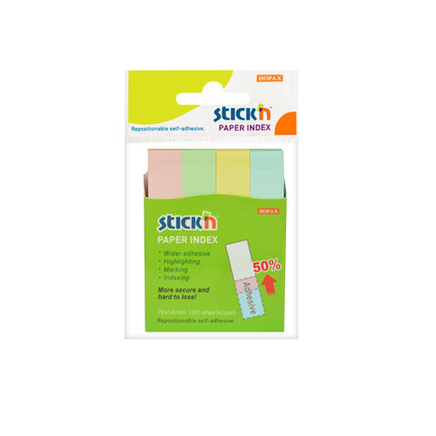 Hopax Stick'n MARKERS Paper Index