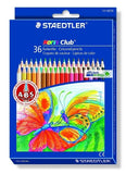 STAEDTLER NORIS COLOURING SET 144ND36PR