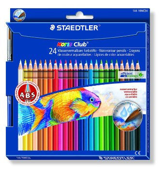 STAEDTLER NORIS CLUB COLOUR PENCIL 24'S