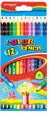 "KEYROAD  7"" COLOR PENCIL 12'S/BOX KR971273"