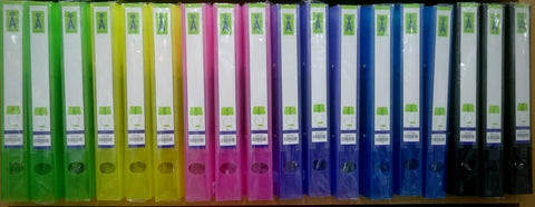 2D RING FILE~FLUORESCENT