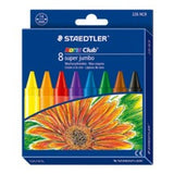STAEDTLER NORIS 8'S JUMBO COLOUR WAX 226NC8