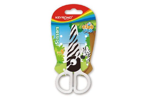 "KEYROAD 5"" CLDRN SAFETY SCISSOR W/ TATTOO KR971404"