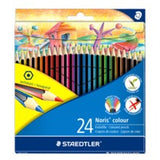 STAEDTLER NORIS COLOUR PENCILS  24 'S