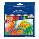 STAEDTLER NORIS 24'S LONG COLOUR PENCILS 144NC24