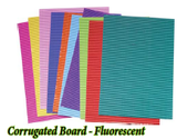 Corrugated Board - Fluorescent