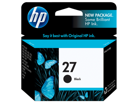 HP 27 BLACK INK CARTIDGE