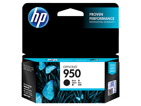 HP 950 BLACK INK CARTRIDGE CN049AA