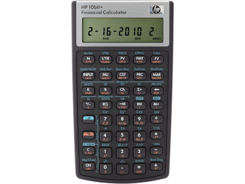 HP FINANCIAL CALCULATOR 10BLL+