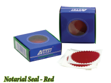 Notarial Seal - Red