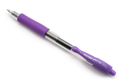 PILOT G-2 BALL PEN 0.5 PURPLE
