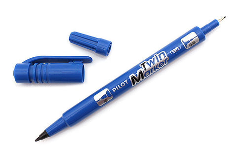 PILOT  SCATMS TWIN MARKER BLUE