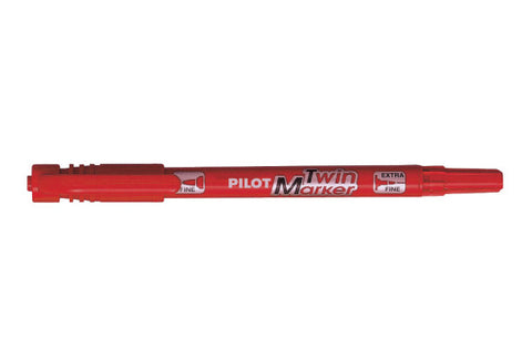 PILOT TWIN MARKER SCA-TM RED