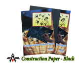 Construction Paper - Black