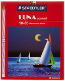 STAEDTLER LUNA 2 SIDE COLOUR PENCIL 36'S