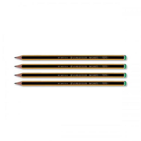 STAEDTLER PENCILS YELLOW 120-4
